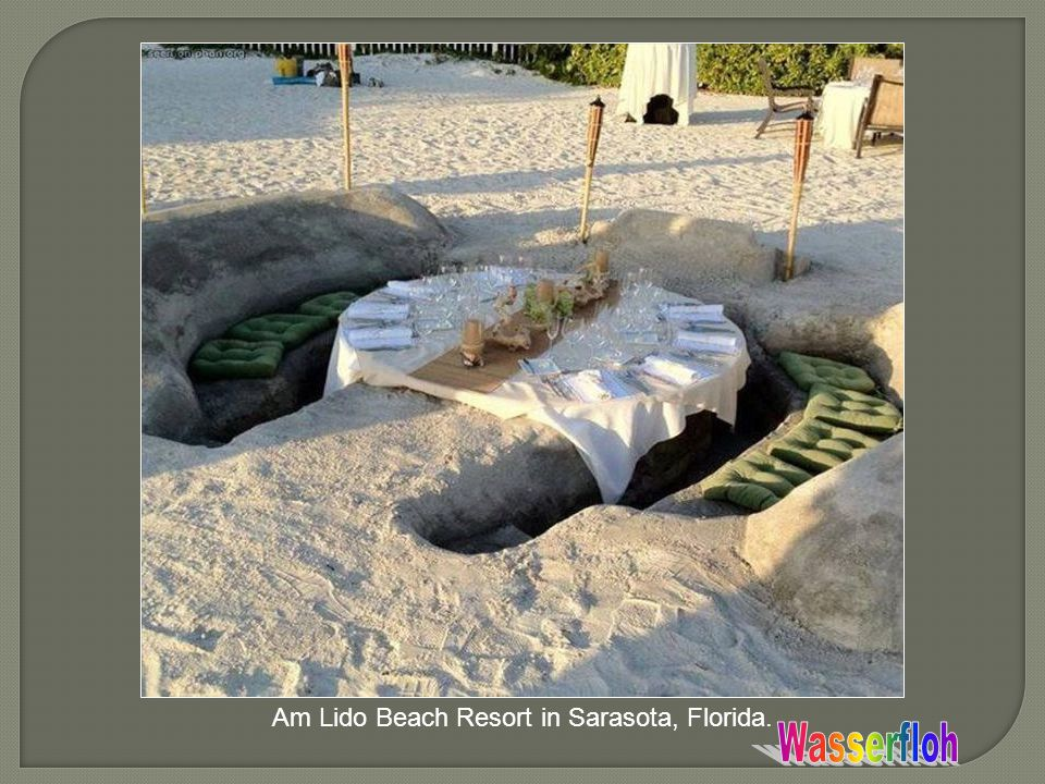 Am Lido Beach Resort in Sarasota, Florida.