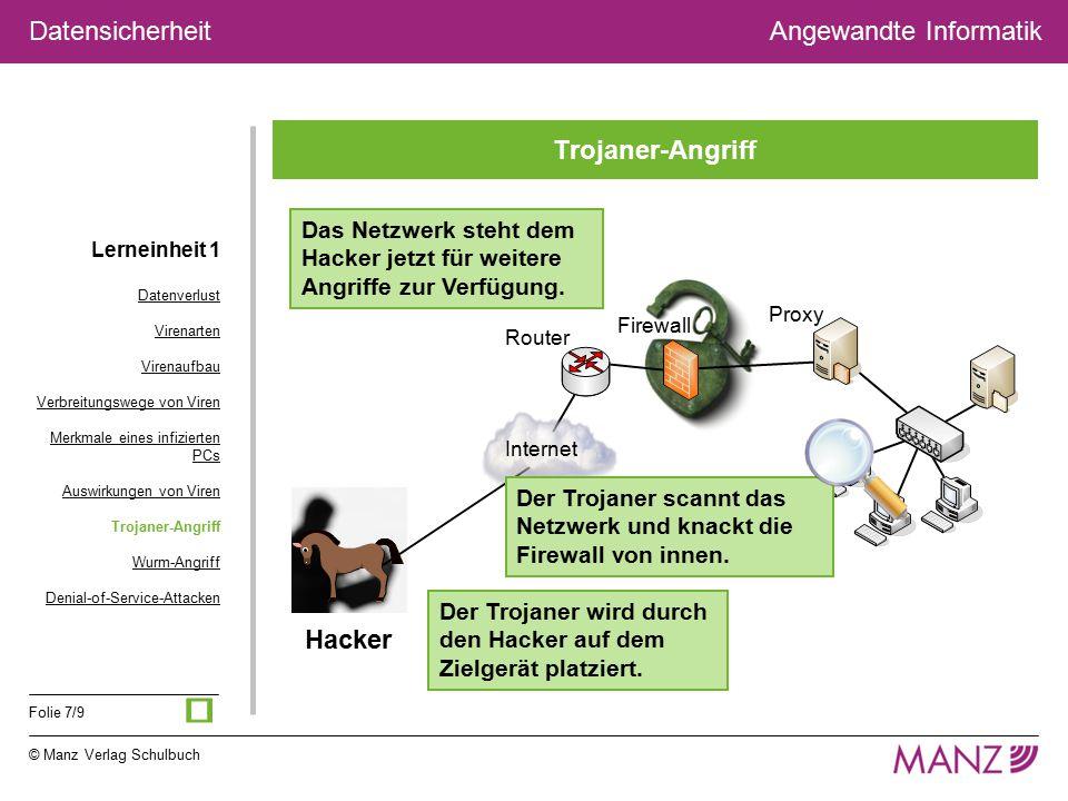 ü Trojaner-Angriff Hacker