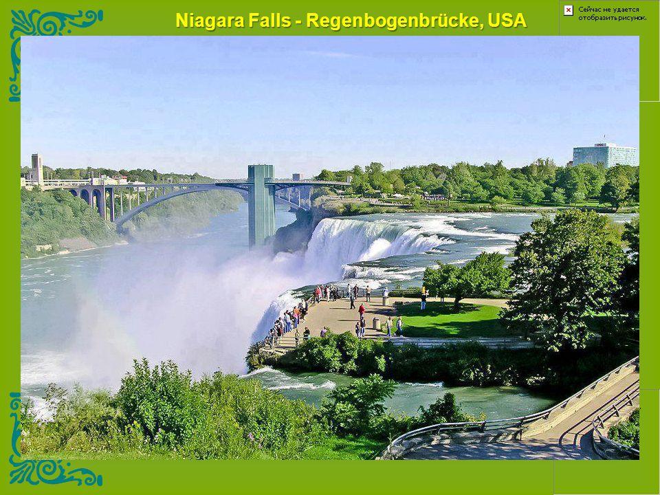 Niagara Falls - Regenbogenbrücke, USA