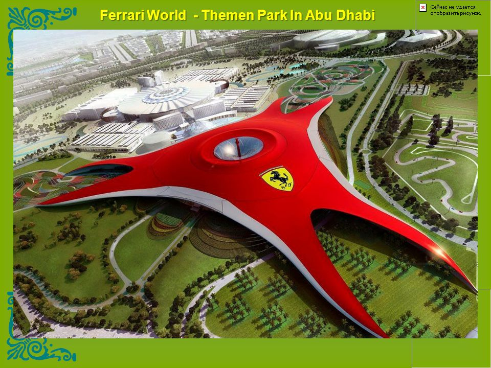 Ferrari World - Themen Park In Abu Dhabi