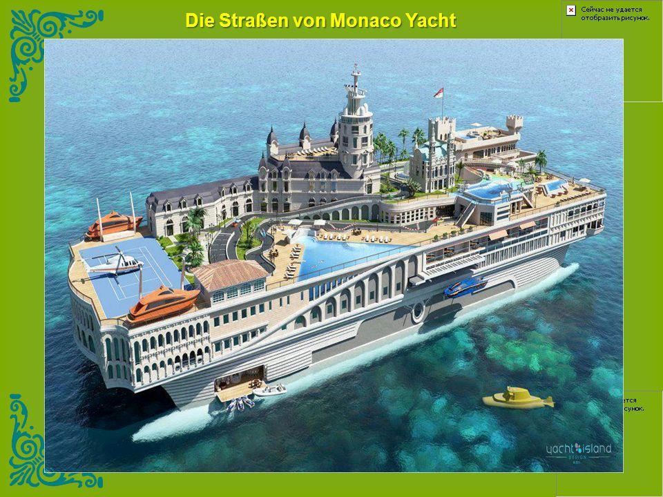 Die Straßen von Monaco Yacht