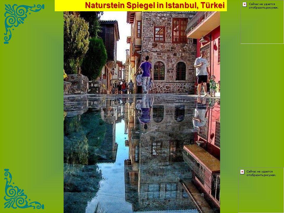 Naturstein Spiegel in Istanbul, Türkei