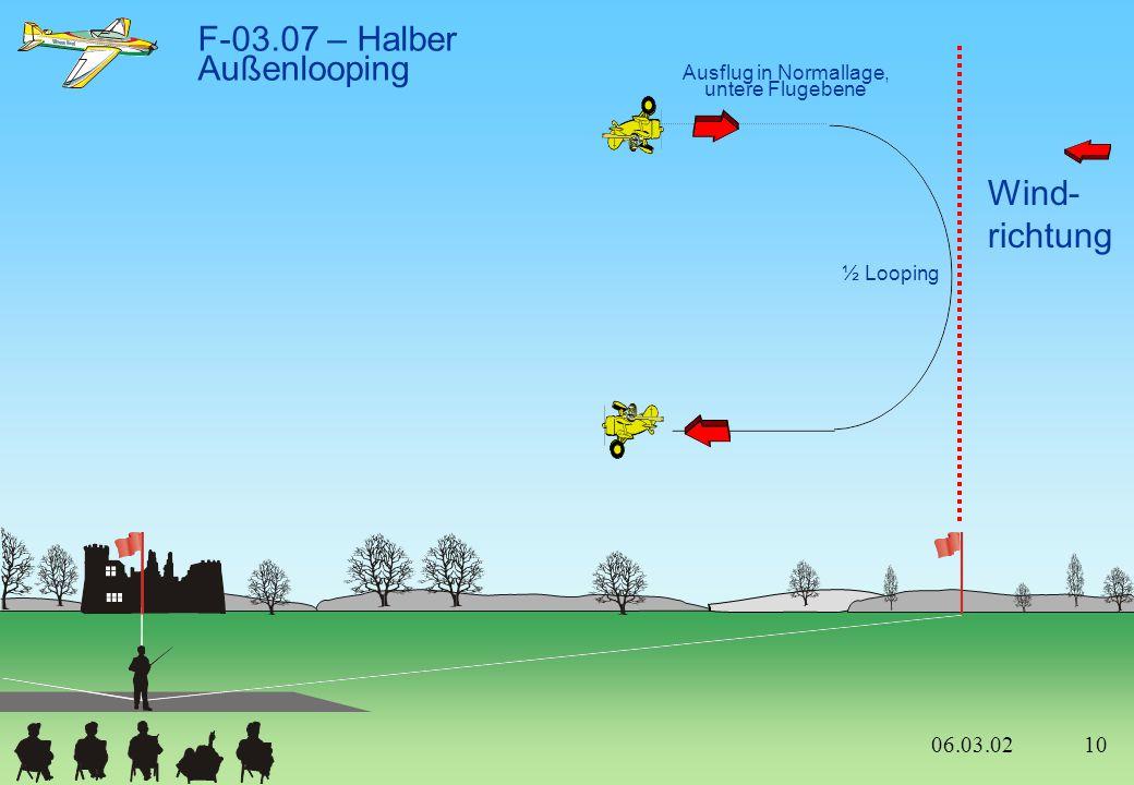 F-03.07 – Halber Außenlooping