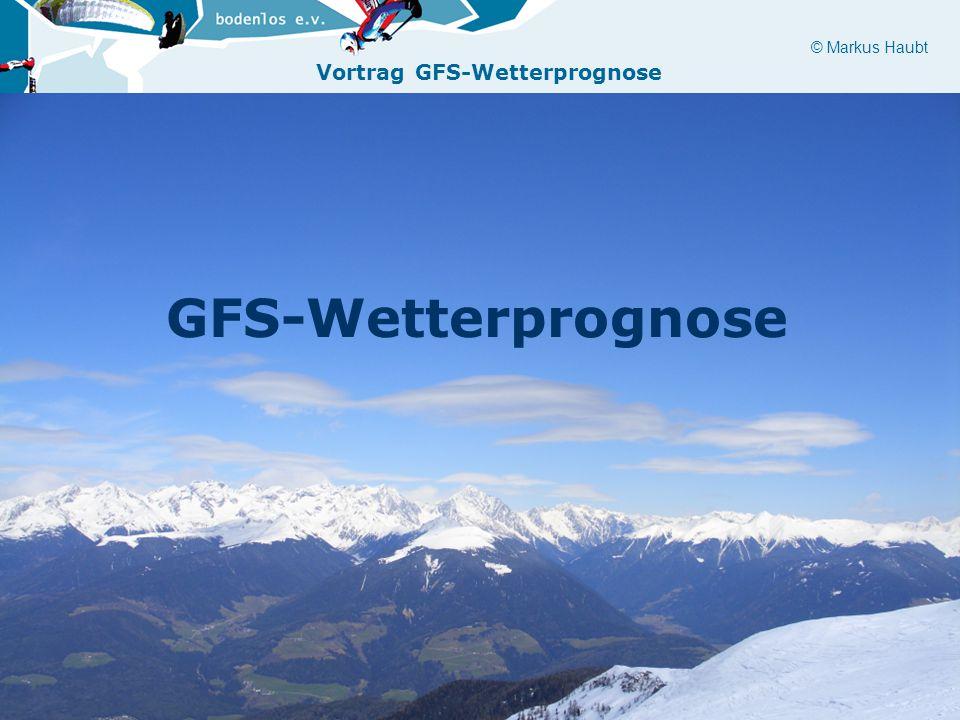 GFS-Wetterprognose
