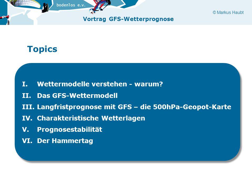 Topics Wettermodelle verstehen - warum Das GFS-Wettermodell