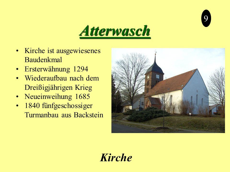 Atterwasch Kirche 9 Kirche ist ausgewiesenes Baudenkmal