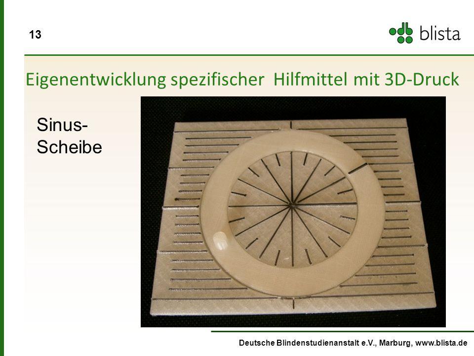 Eigenentwicklung spezifischer Hilfmittel mit 3D-Druck