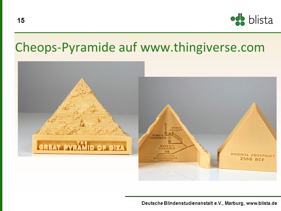 Cheops-Pyramide auf www.thingiverse.com