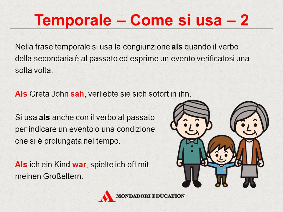 Temporale – Come si usa – 2