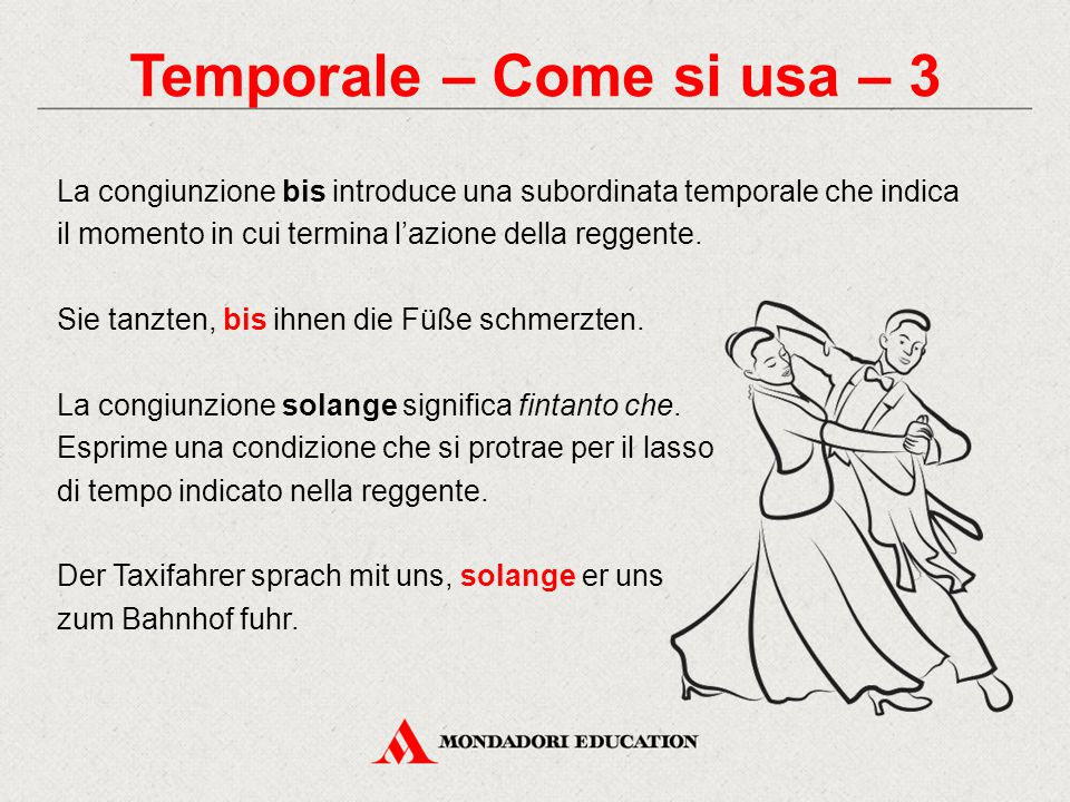 Temporale – Come si usa – 3