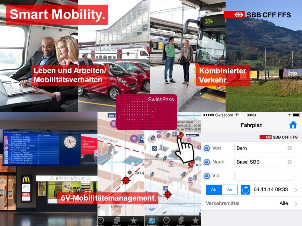 Smart Mobility. . Leben und Arbeiten/ Mobilitätsverhalten Kombinierter
