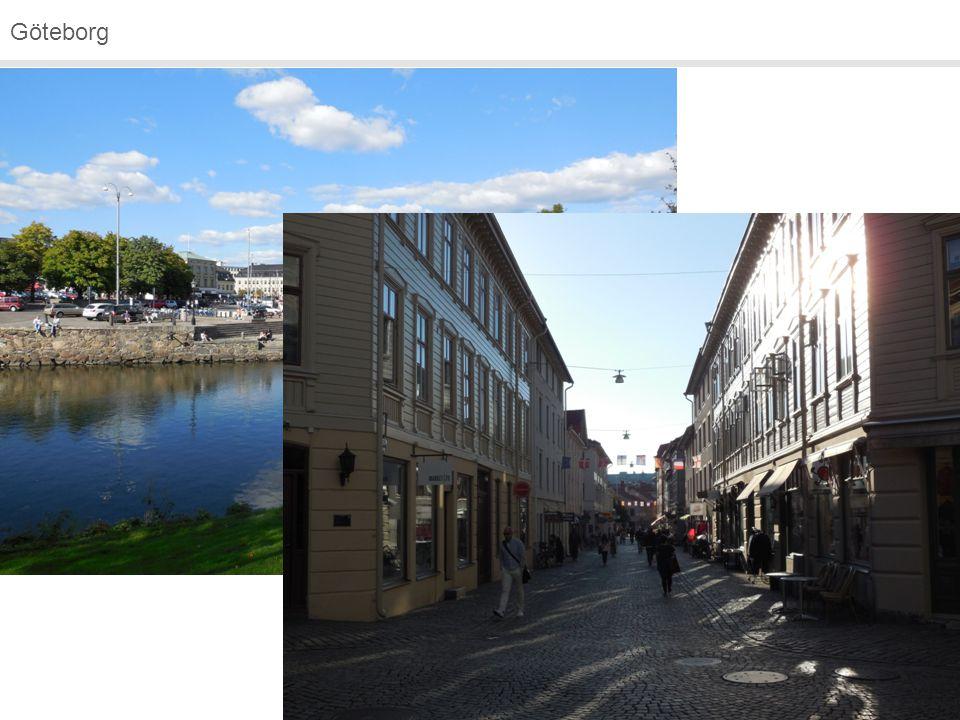 Göteborg Keine Campusuni, sondern Fakultäten verteilt in der Stadt