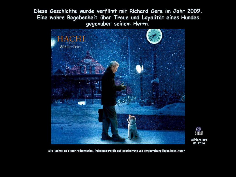 Diese Geschichte wurde verfilmt mit Richard Gere im Jahr 2009.