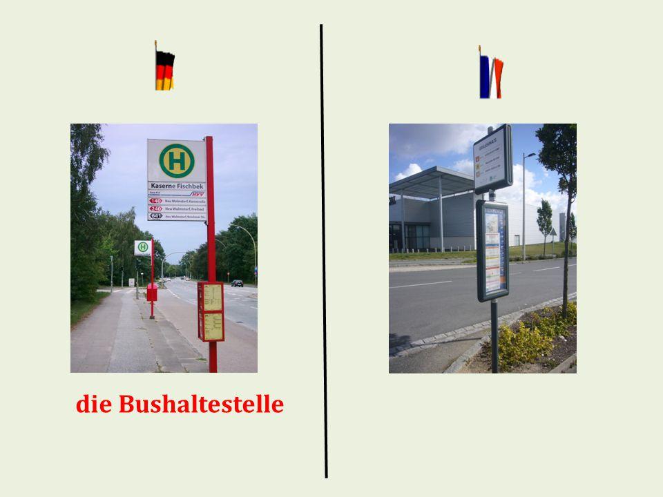 die Bushaltestelle