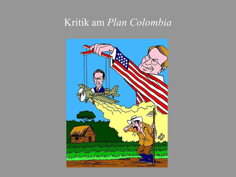Kritik am Plan Colombia