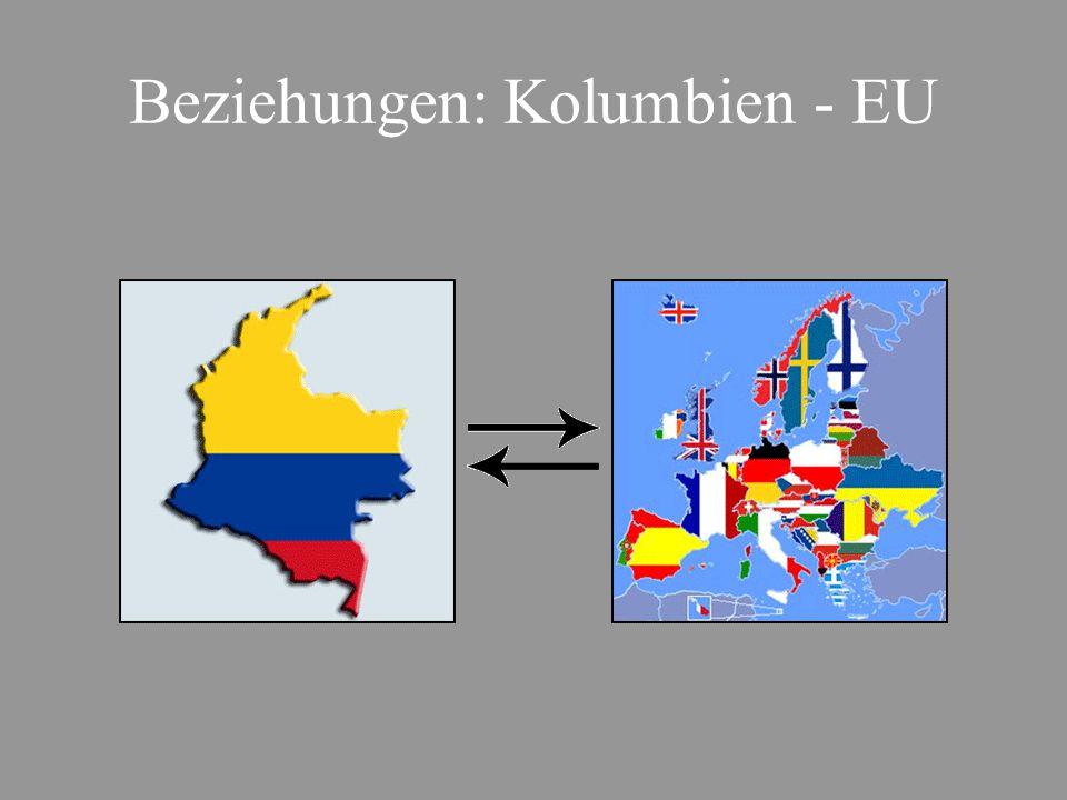 Beziehungen: Kolumbien - EU