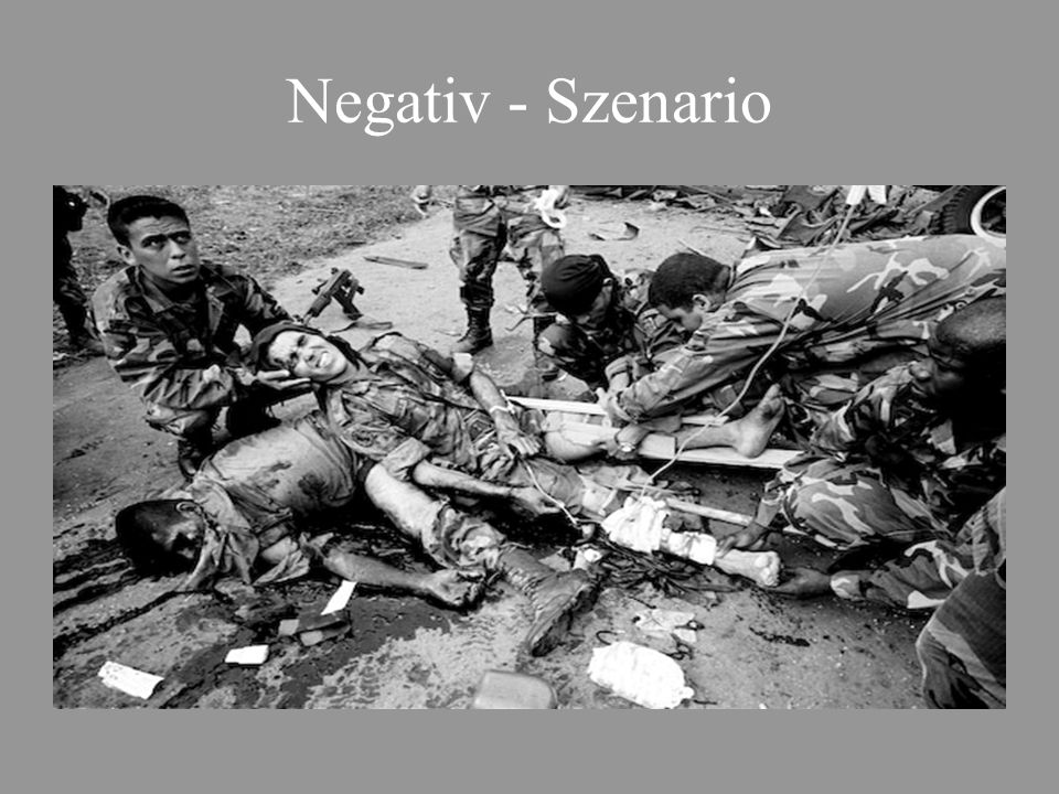 Negativ - Szenario