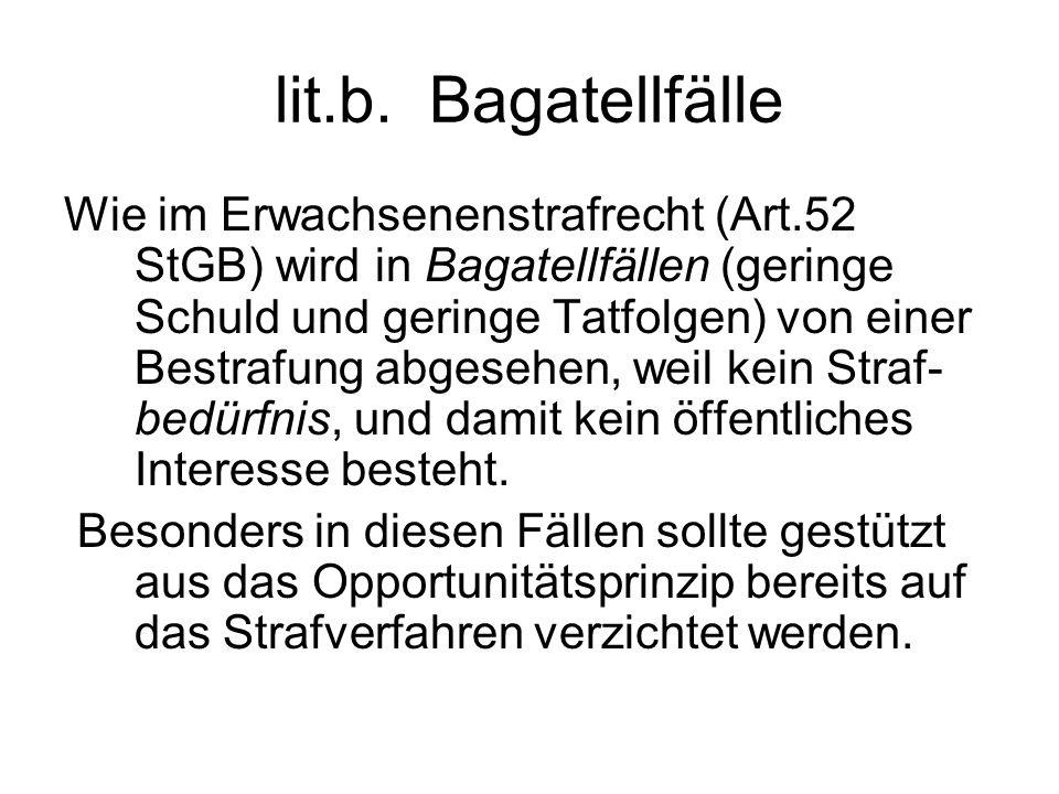 lit.b. Bagatellfälle