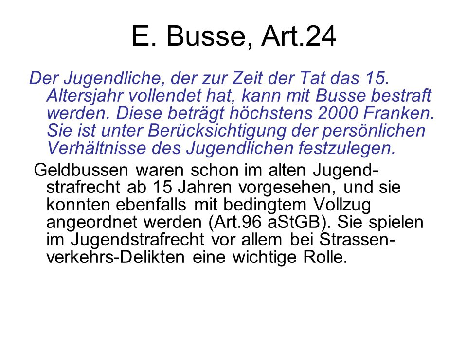 E. Busse, Art.24