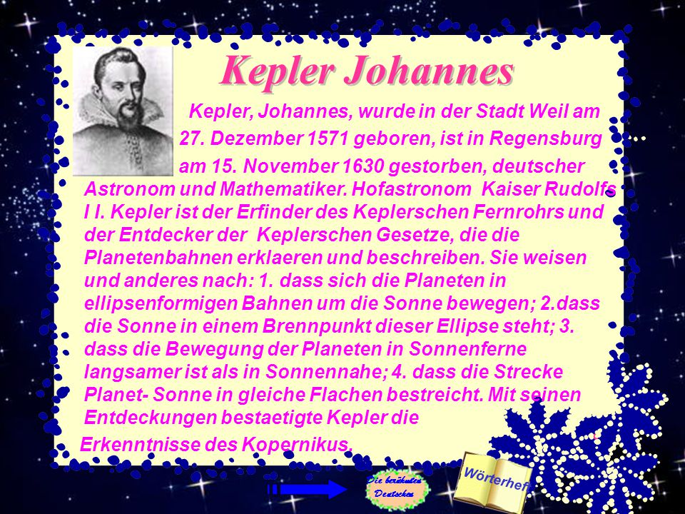 Die berühmten Deutschen