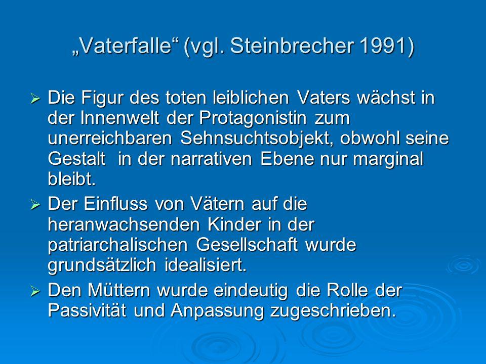 """""""Vaterfalle (vgl. Steinbrecher 1991)"""