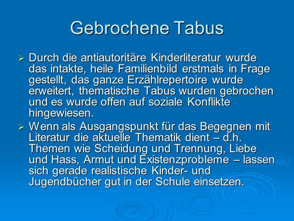 Gebrochene Tabus