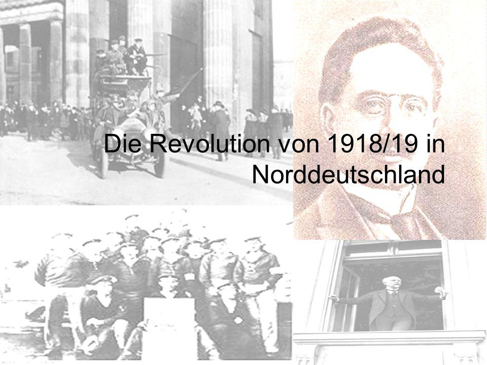 Die Revolution von 1918/19 in Norddeutschland