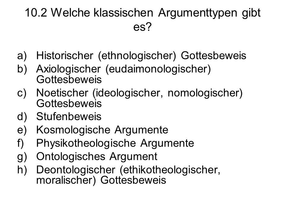 10.2 Welche klassischen Argumenttypen gibt es