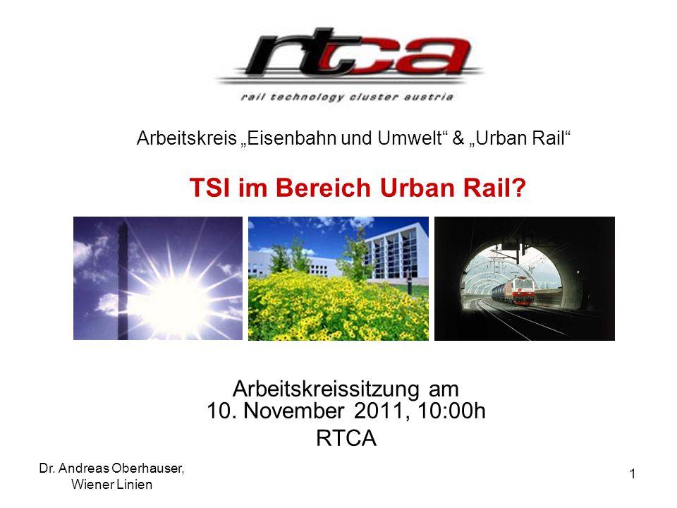 Arbeitskreissitzung am 10. November 2011, 10:00h RTCA