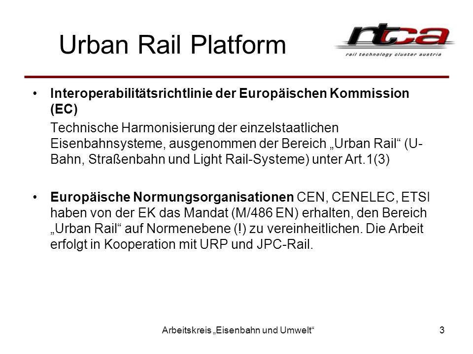 "Arbeitskreis ""Eisenbahn und Umwelt"