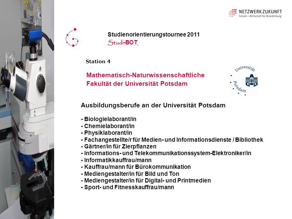 Mathematisch-Naturwissenschaftliche Fakultät der Universität Potsdam