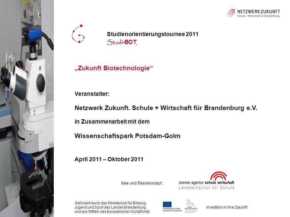 """""""Zukunft Biotechnologie"""