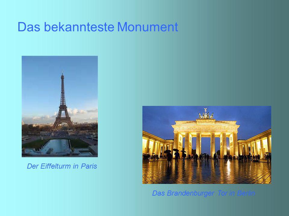 Das bekannteste Monument