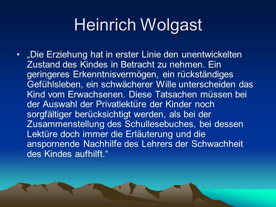 Heinrich Wolgast