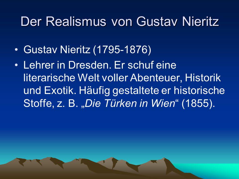 Der Realismus von Gustav Nieritz