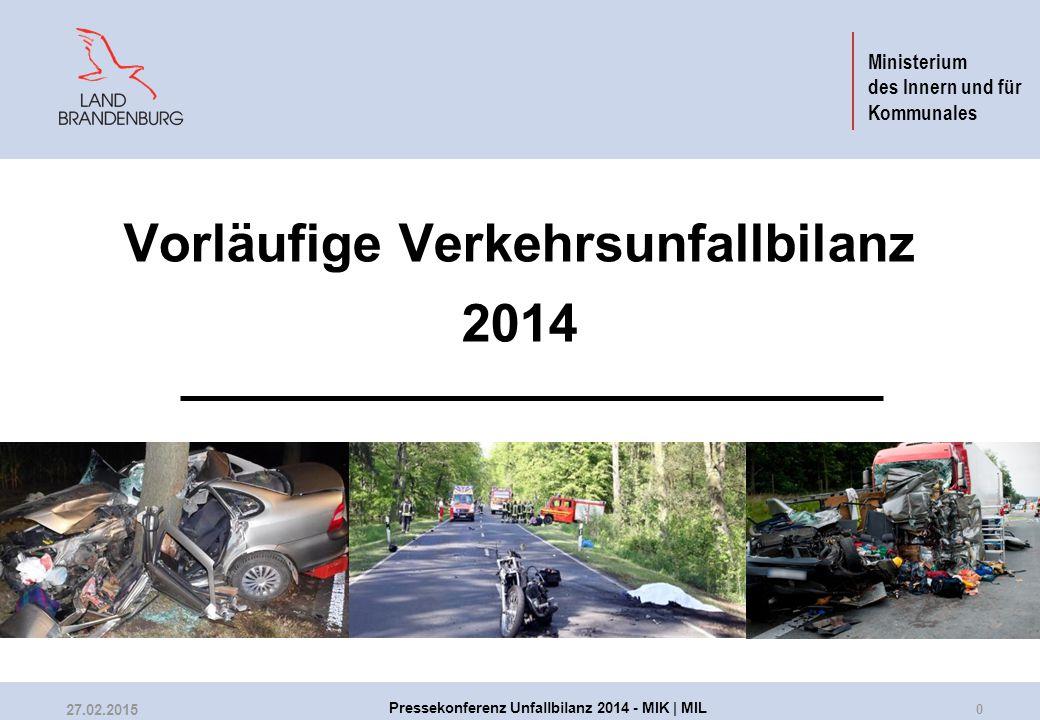 Verkehrsunfälle in Brandenburg