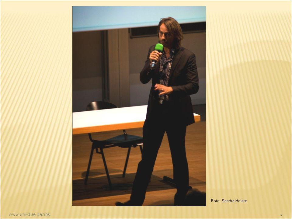 Foto: Sandra Holste www.uni-due.de/ios