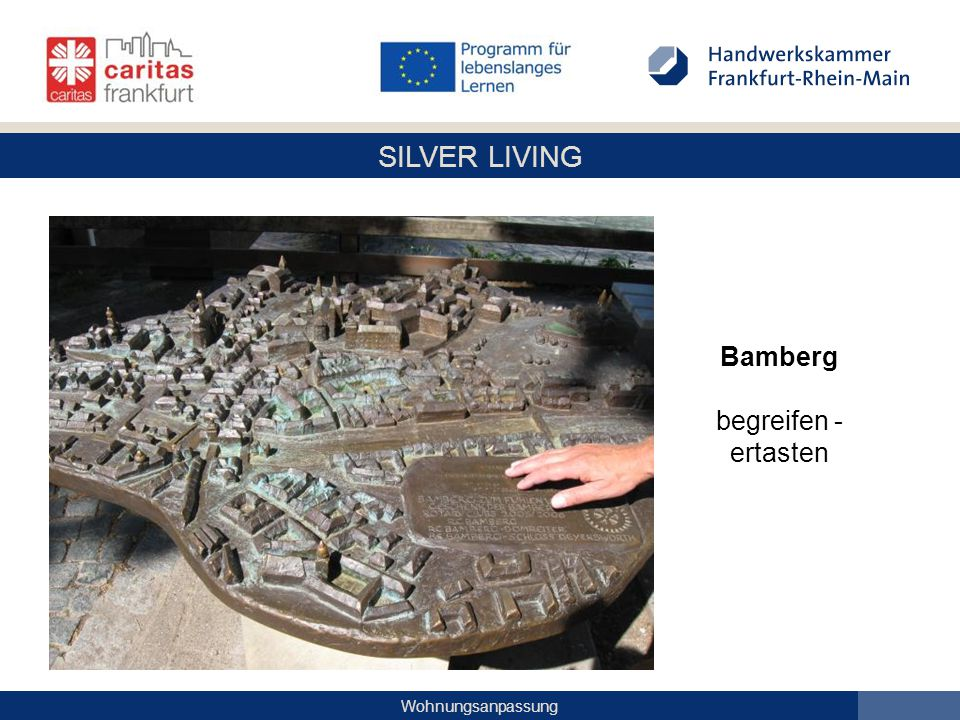 Bamberg begreifen - ertasten