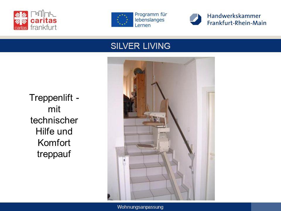 Treppenlift - mit technischer Hilfe und Komfort treppauf