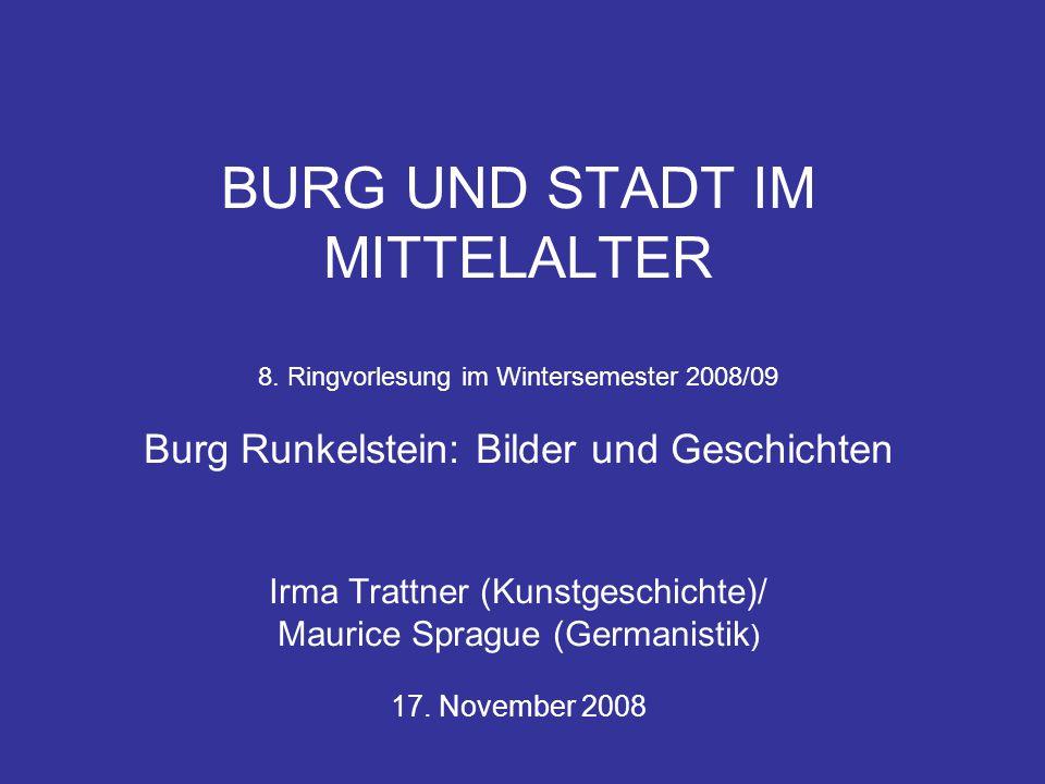BURG UND STADT IM MITTELALTER 8