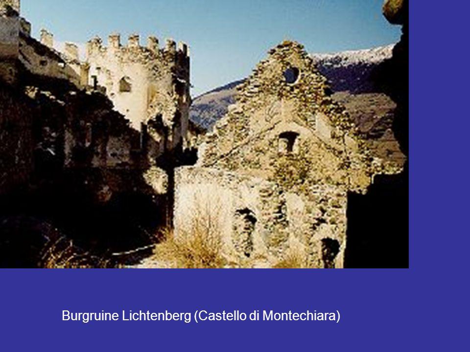 Burgruine Lichtenberg (Castello di Montechiara)