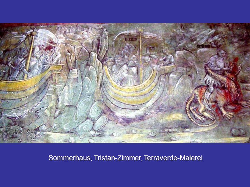 Sommerhaus, Tristan-Zimmer, Terraverde-Malerei