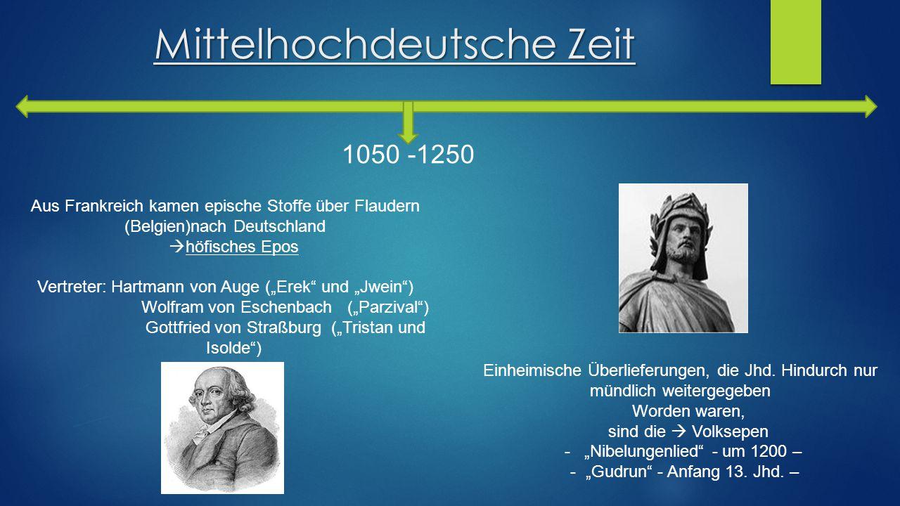 Mittelhochdeutsche Zeit