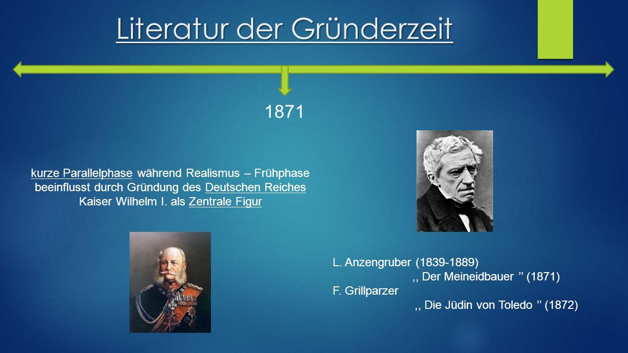 Literatur der Gründerzeit