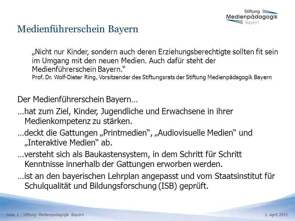 Medienführerschein Bayern