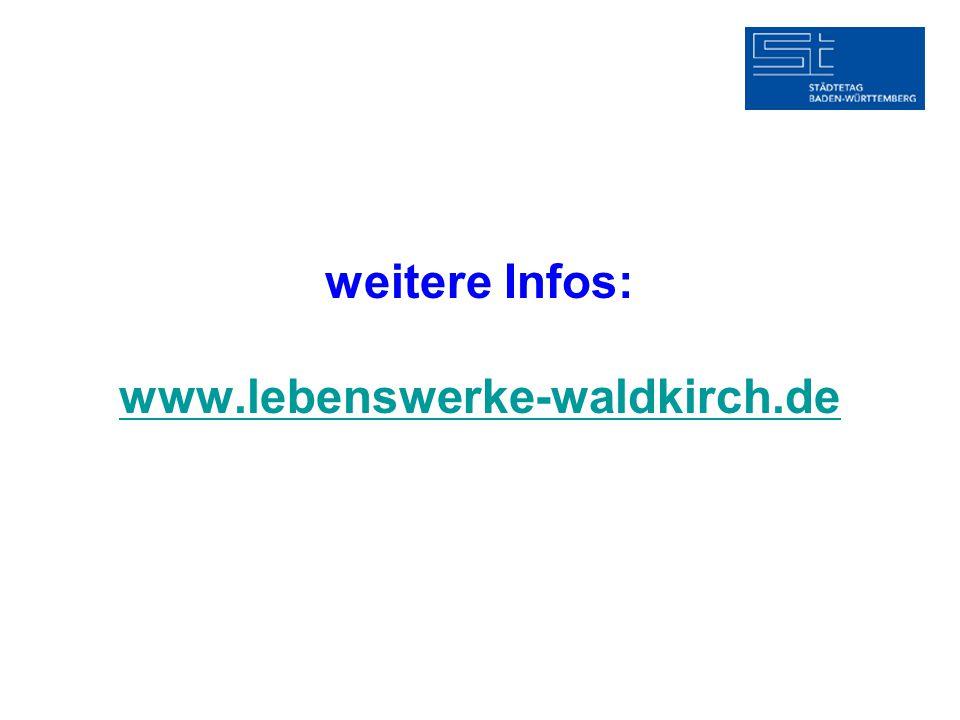 weitere Infos: www.lebenswerke-waldkirch.de