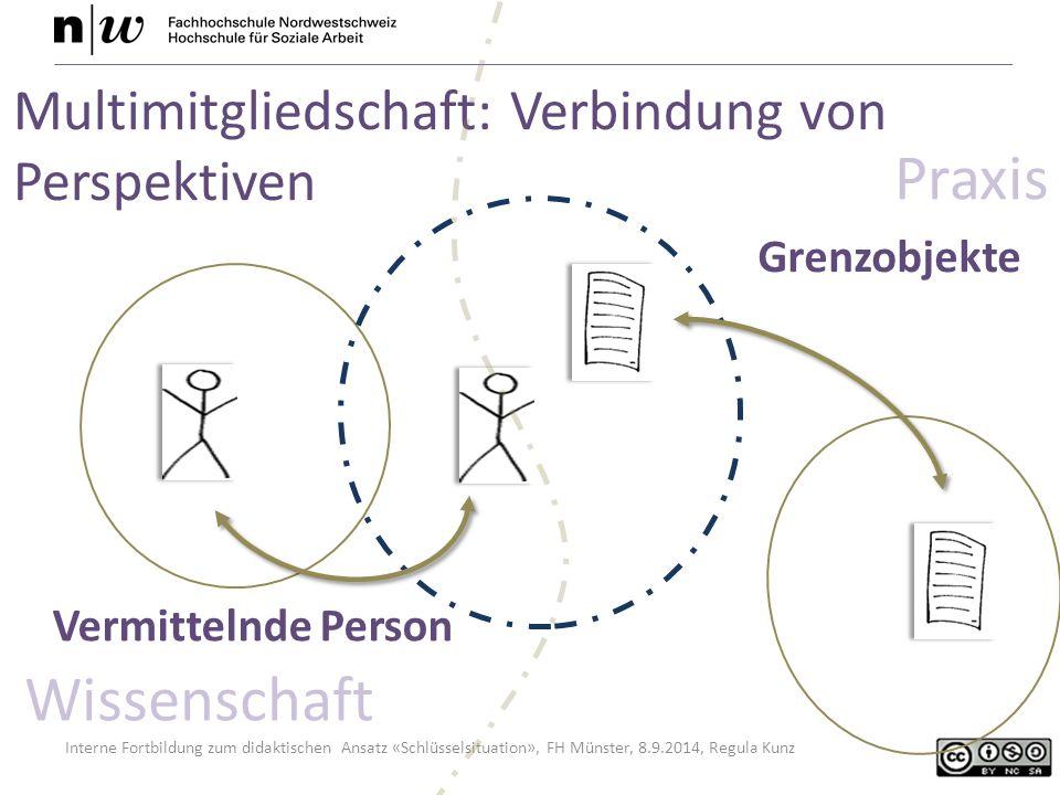 Praxis Wissenschaft Multimitgliedschaft: Verbindung von Perspektiven