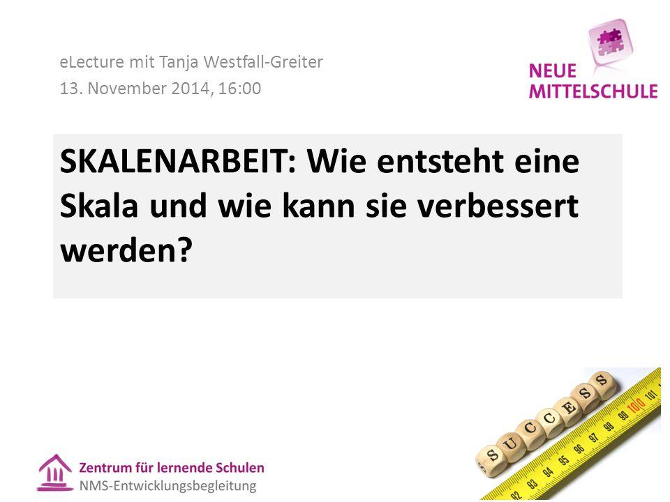 eLecture mit Tanja Westfall-Greiter