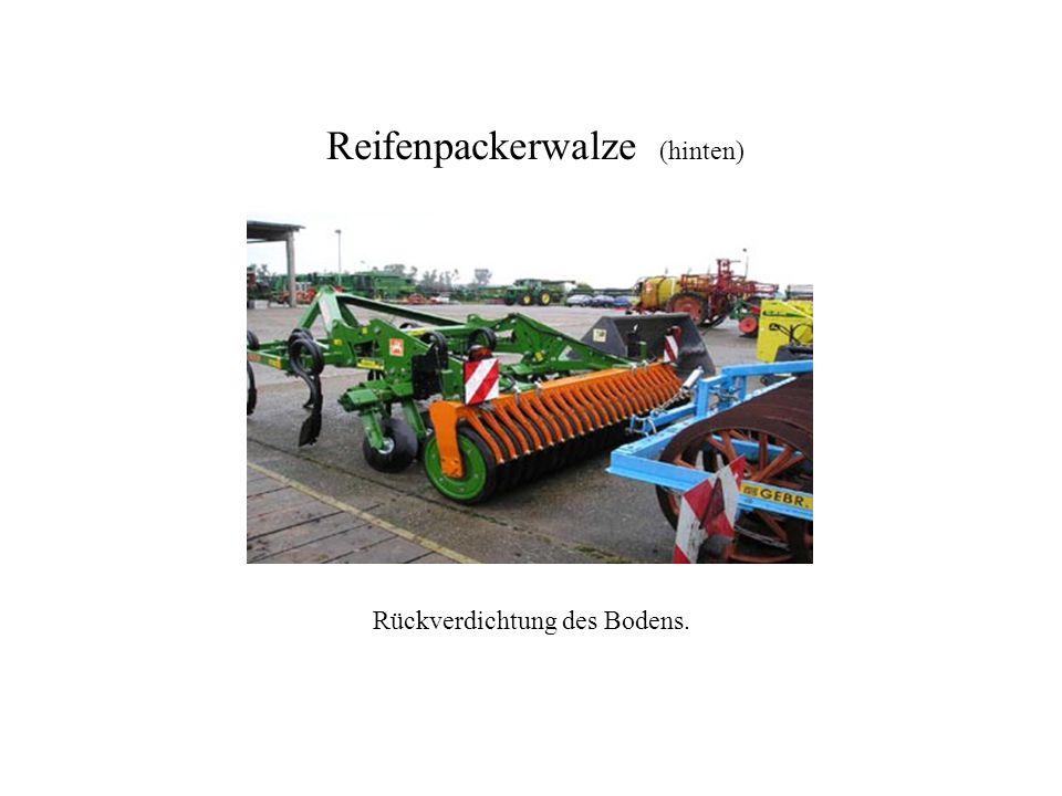 Reifenpackerwalze Reifenpackerwalze (hinten)