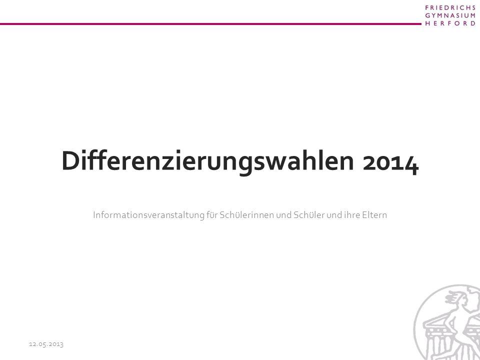 Differenzierungswahlen 2014